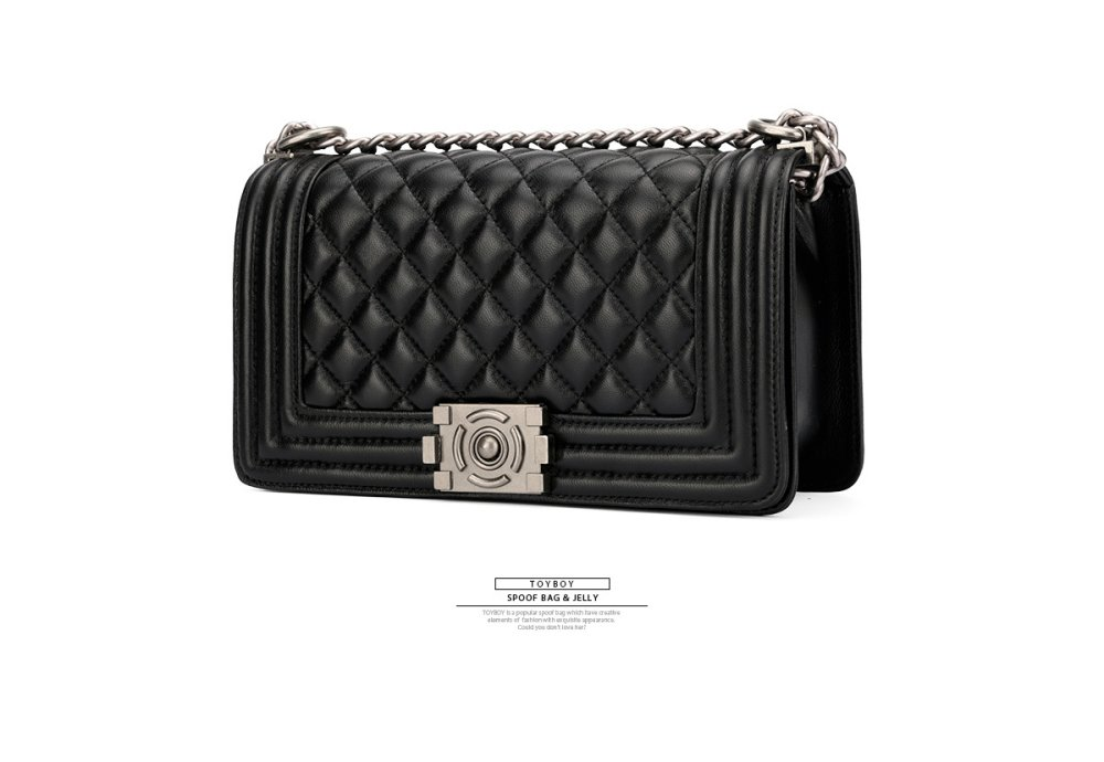 ecf5d901090a New Arrival] TOYBOY LUXURY series Lambskin bag 25cm(black color ...