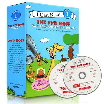 The Syd Hoff I Can Read Collection: 12 Books And 2 Cds Featuring Classic Stories By Ichiban Kids.