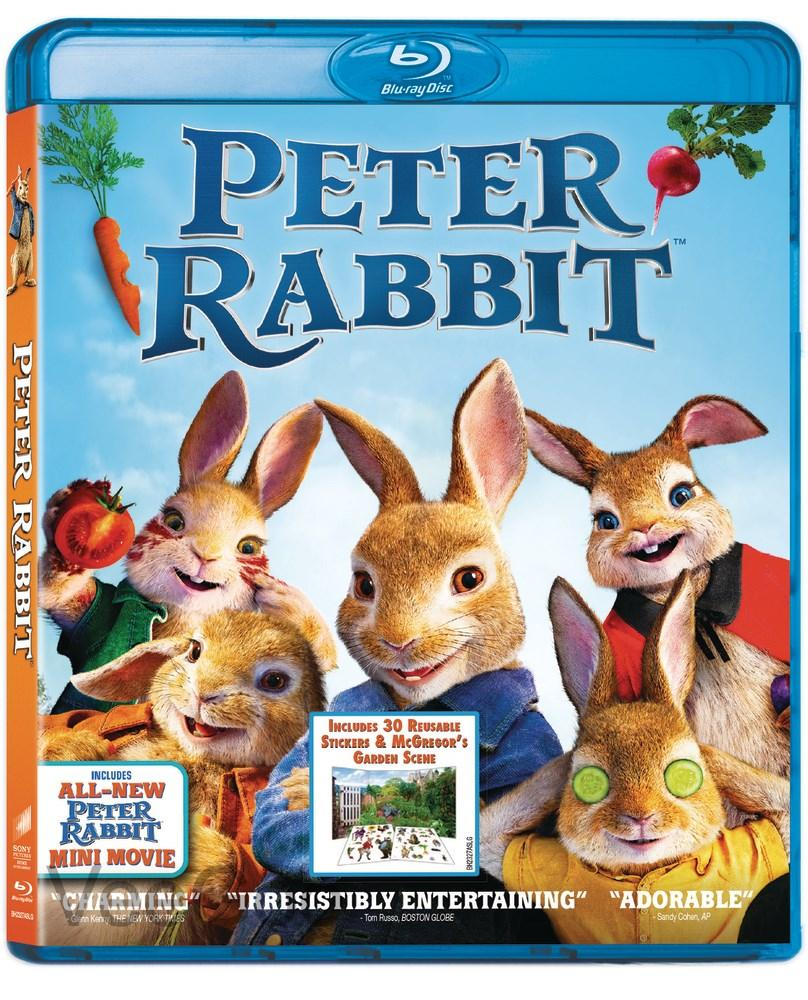 PETER RABBIT 2018 Blu-Ray (PG/RA)