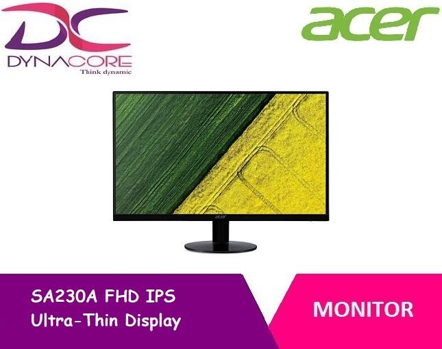 Acer SA230A FHD IPS Ultra-Thin Display Monitor