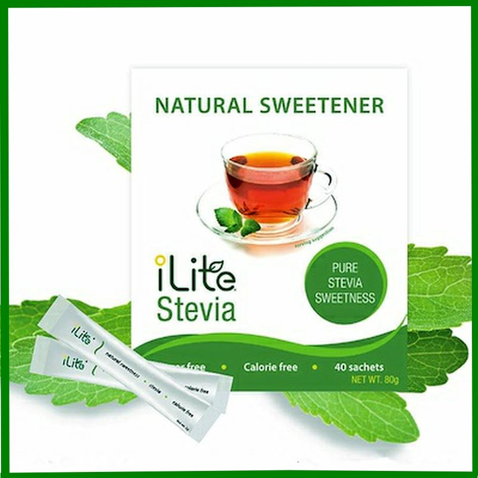 Ilite Stevia 3 Boxes 40s X 2g - Natural Sweetener For Your Coffee Tea By Imart.sg.