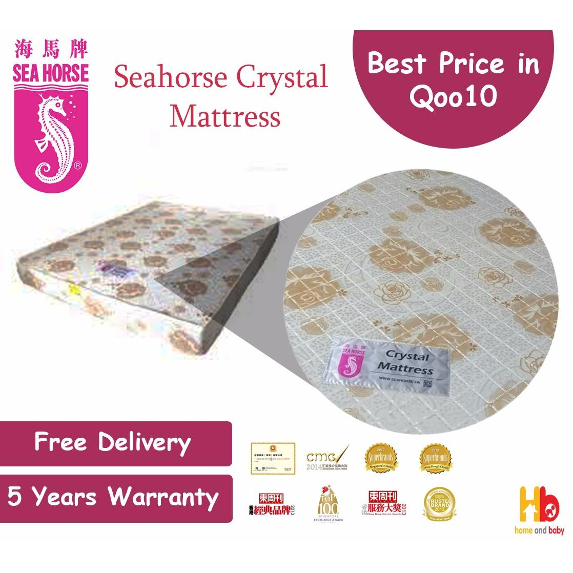 Buy Seahorse Crystal Foam Mattress Super Single 42 X 75 X 4 Online