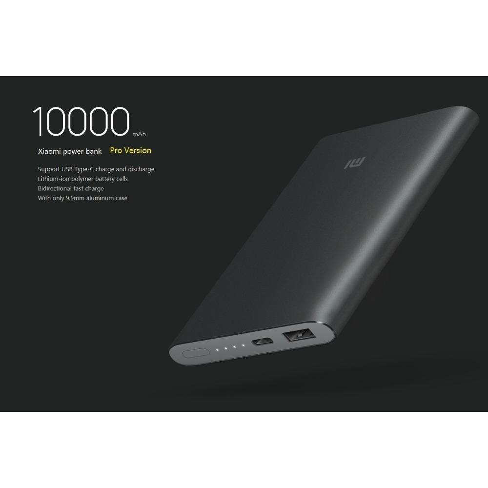 Xiaomi 10000Mah Pro Powerbank Black Price Comparison