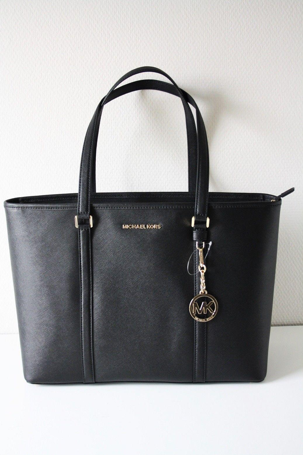 e2f50bc44c38ef Singapore. Authentic Michael Kors Sady Large Tote Saffiano Leather Tote/ Shoulder  Bag #35T7GD4T7L