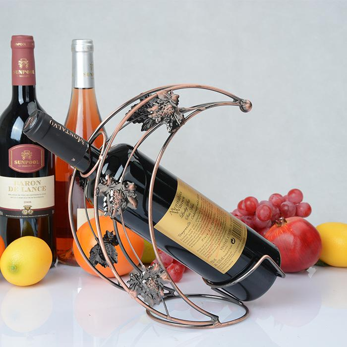Wine Shelf Vintage Iron-craft Wine Rack European Style Wine Rack Decoration Wine Rack MWT3