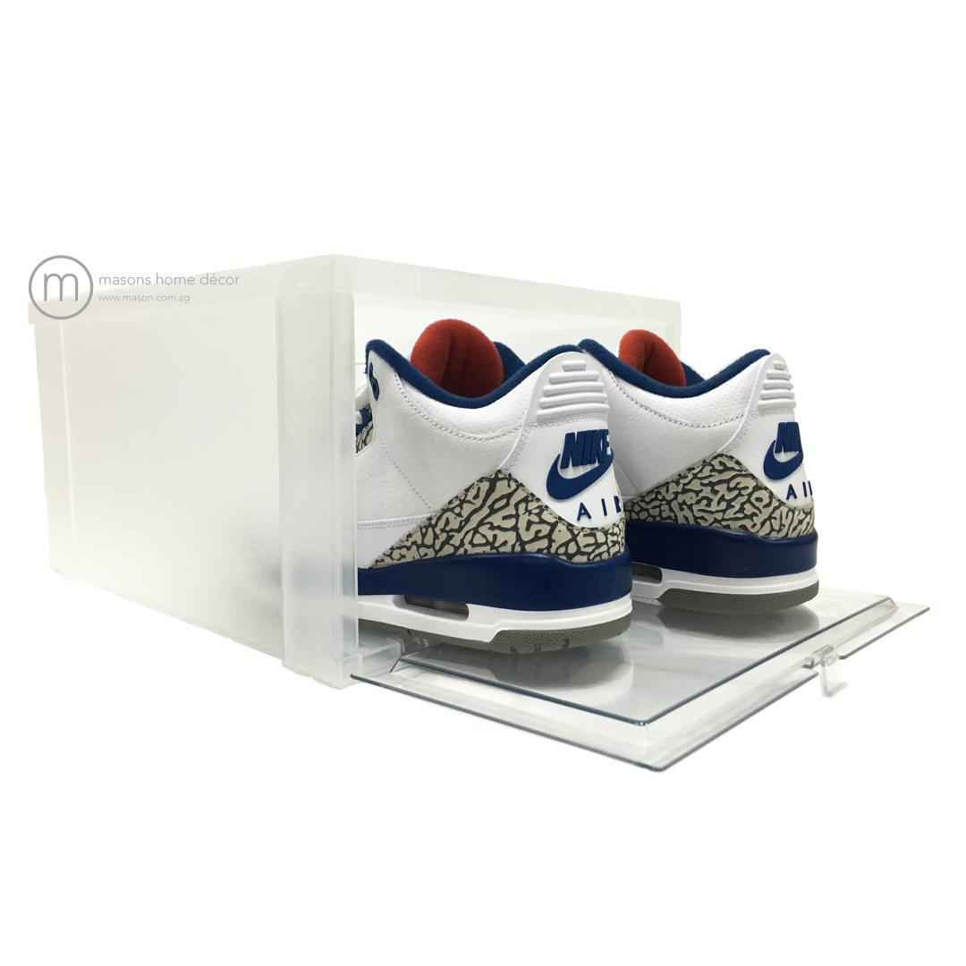 Drop Front Shoe Box (6 pieces)
