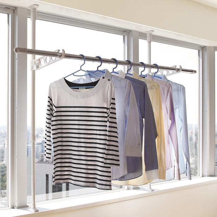 Heian Shindo - Laundry Pole Holder Stand Tmh-41 By The Home Shoppe.