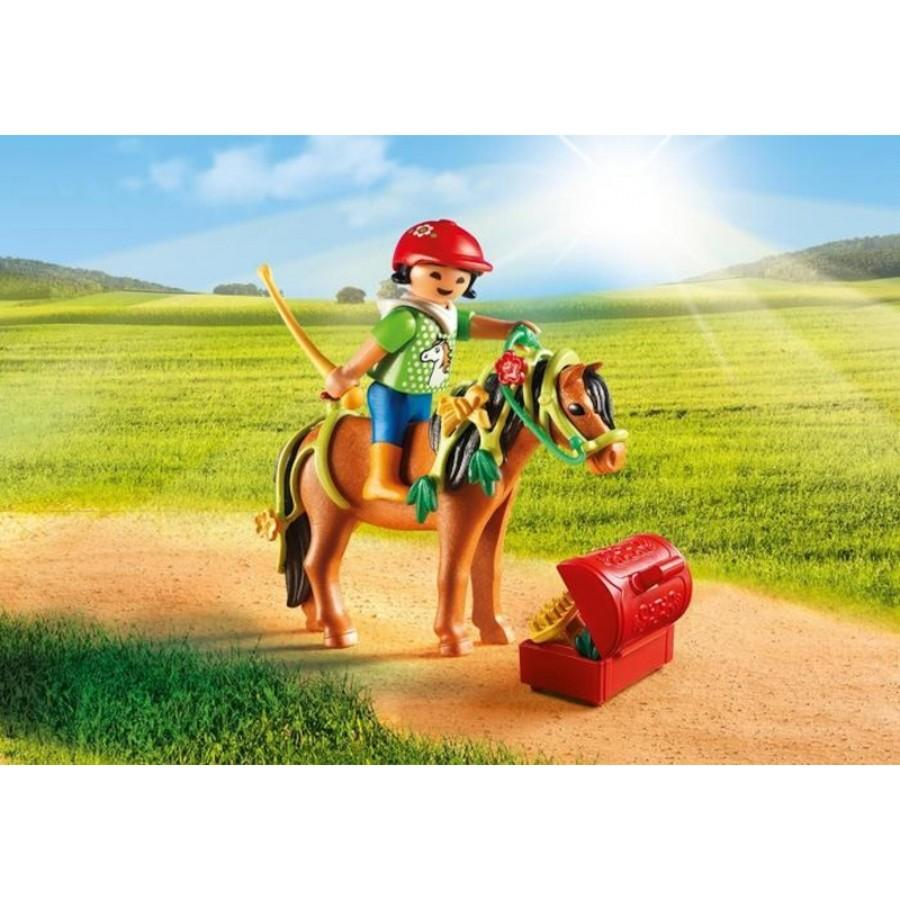 Playmobil Groomer With Bloom Pony