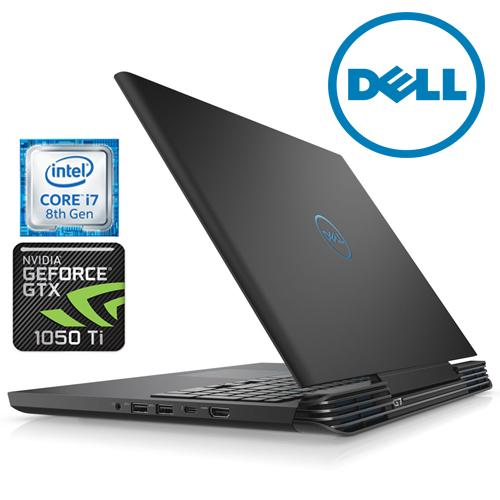 DELL G7 GAMING LAPTOP INTEL CORE I7-8750H / 8GB DDR4 /128GB SSD +1TB HDD / NVIDIA GeFORCE GTX1050TI 4GB /15.6FHD IPS ANTI GLARE LED SCREEN/1 YR DELL WARRANTY
