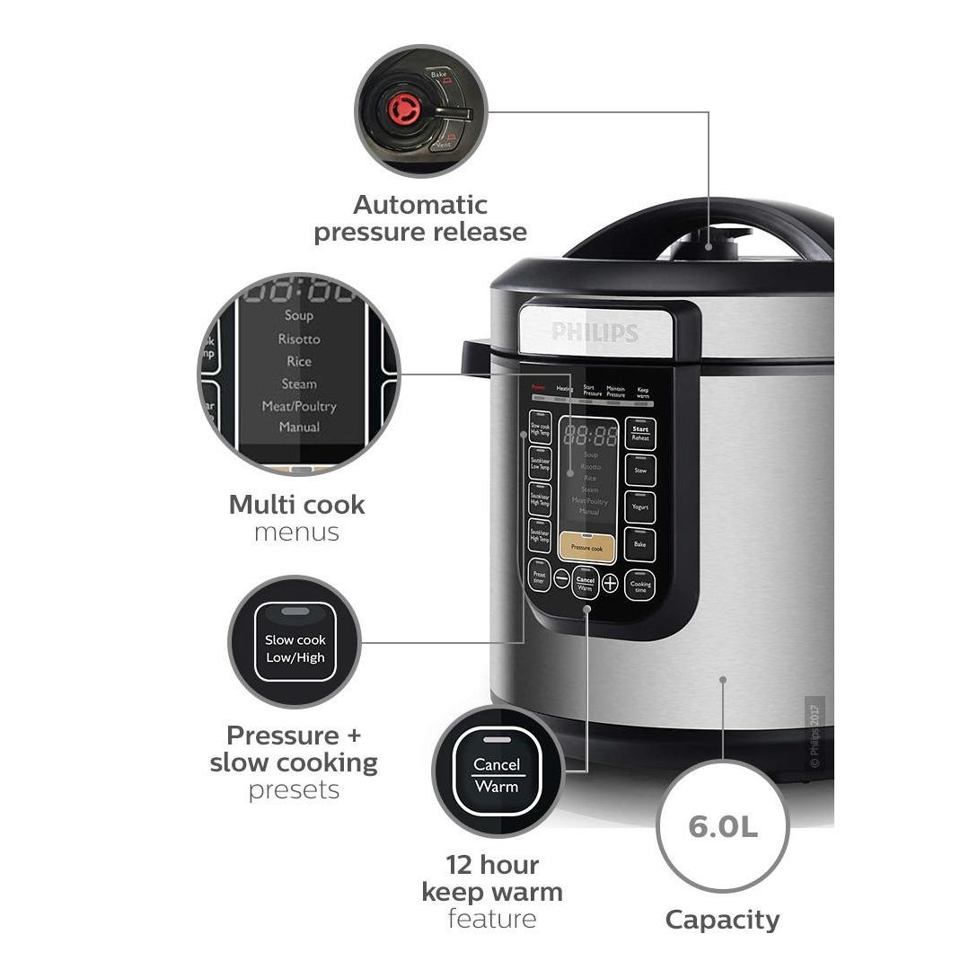 Philips Viva Collection All-In-One Cooker HD2137/62