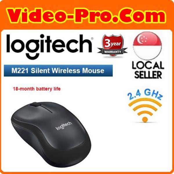 Logitech M221 Silent Plus Wireless Mouse 3 Year Local Warranty