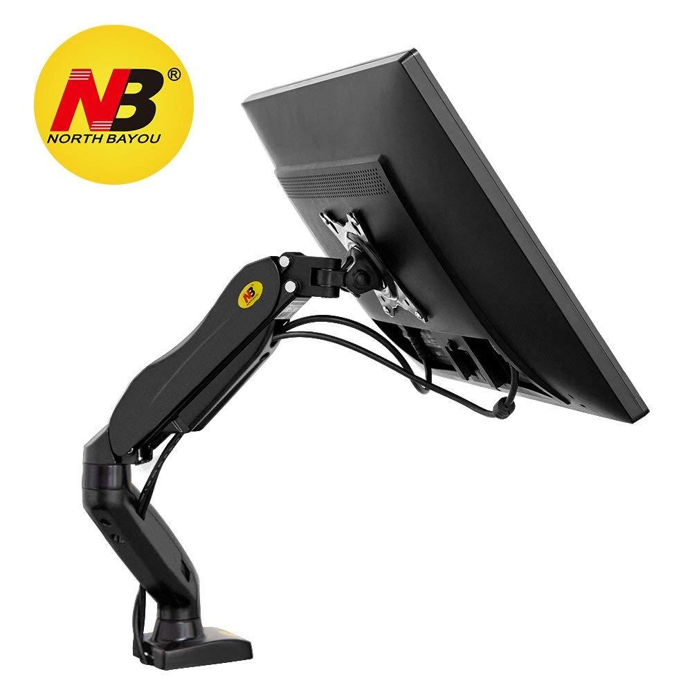 Monitor Mount - NB North Bayou Desk Mount Stand Full Motion for 17 to 27in Monitor from 4.4 to 14.3lbs