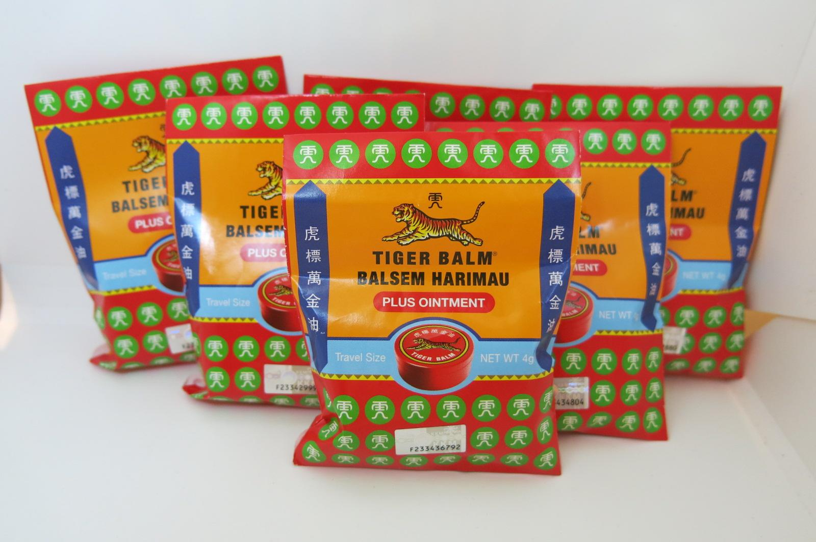 Tiger Balm Ultra Strength Clear Ointment Price In Singapore Balsem Oil Set Of 6 Red Plus Travel Size 4 Grams