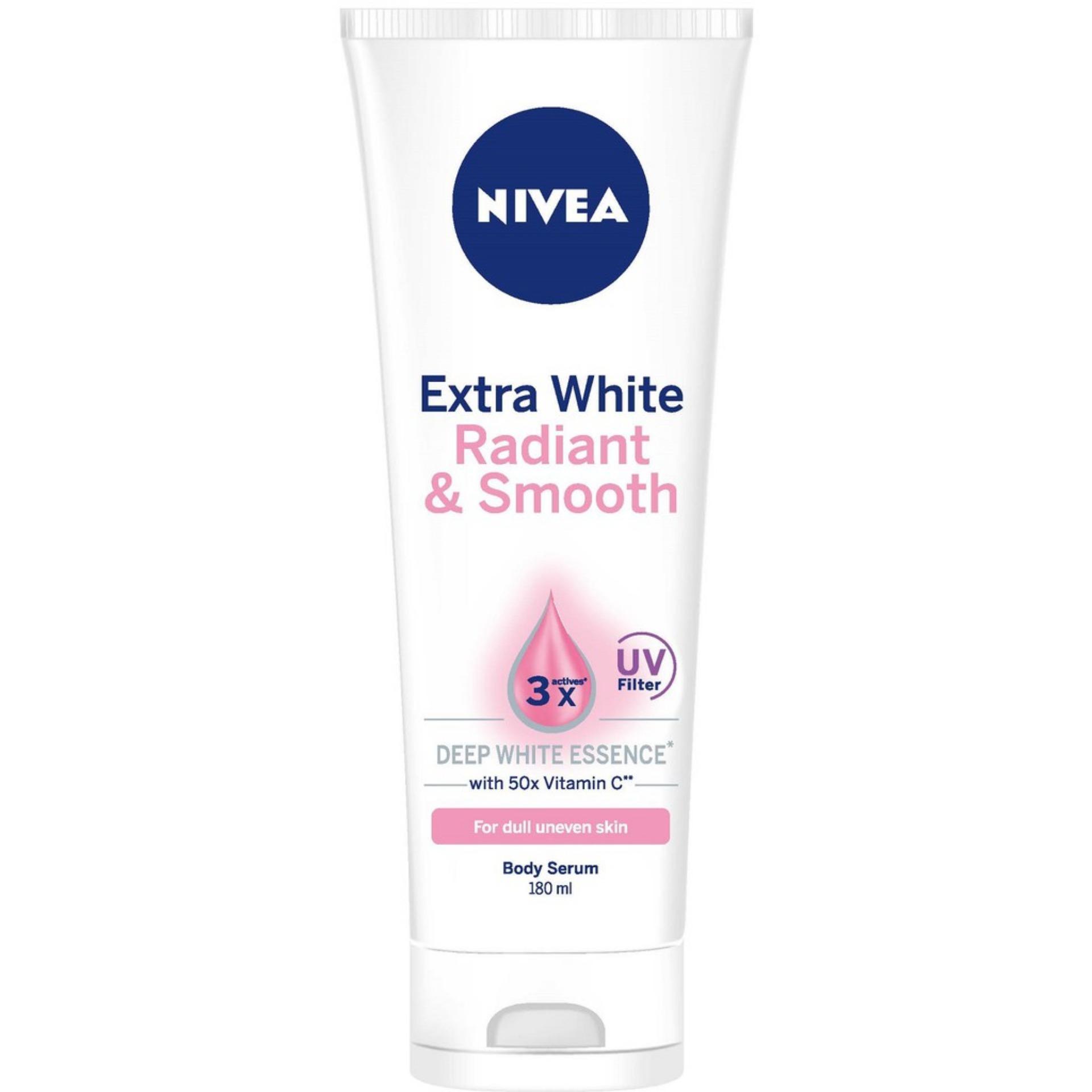 NIVEA Body Care Unisex Extra White Radiant & Smooth Serum SPF33 180ml