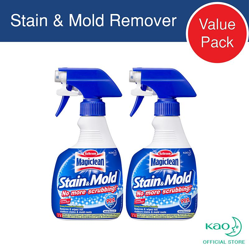 Magiclean Stain & Mold Remover Trigger 400ml (set Of 2) By Kao.