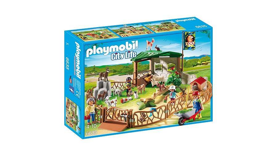PLAYMOBIL 6635 CHILDREN'S PETTING ZOO