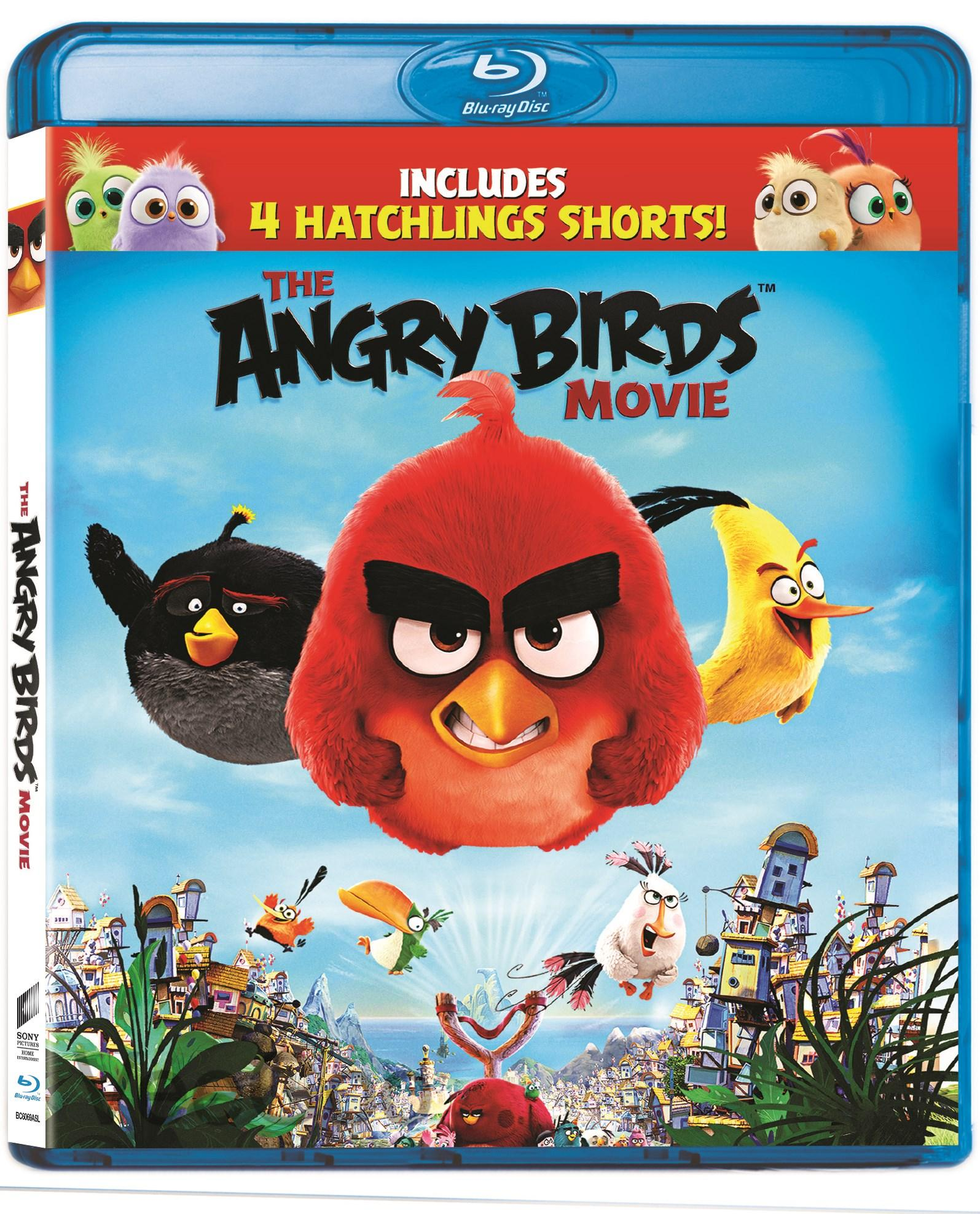 THE ANGRY BIRDS MOVIE Blu-Ray (PG/RA)
