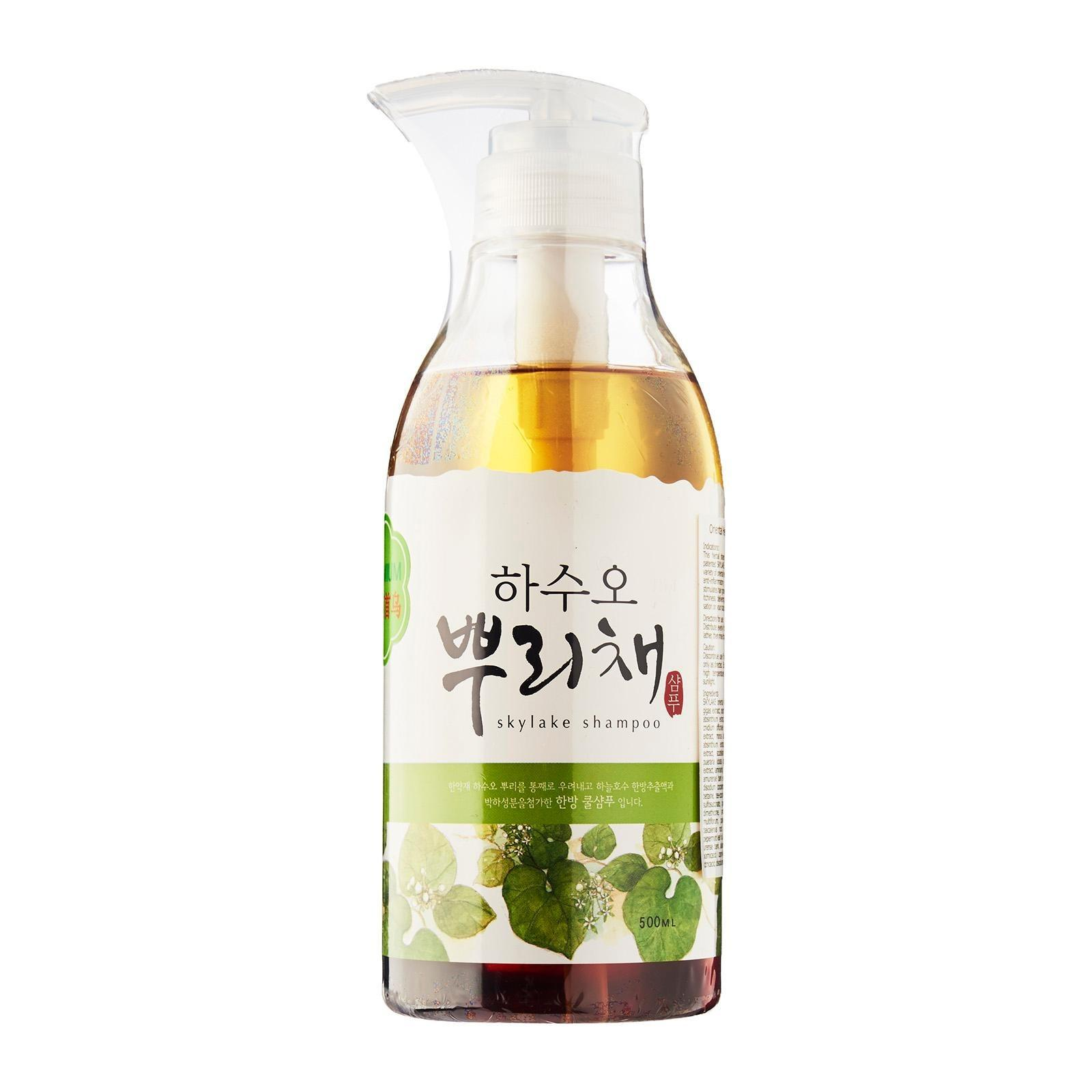 Retail Price Skylake Premium Oriental Herb Cool Shampoo 500Ml