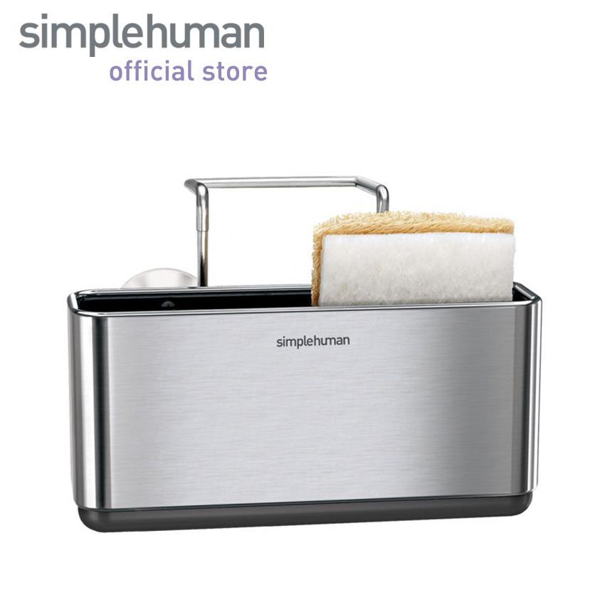 Review Simplehuman Slim Sink Caddy Brushed Stainless Steel Simplehuman On Singapore