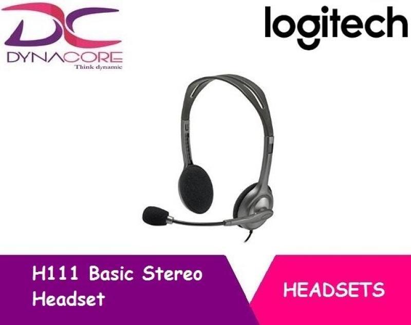 DYNACORE - Logitech Stereo Headset H111 Singapore