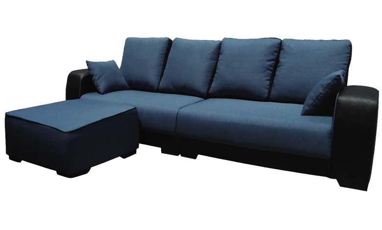 [MAAYRISE] Karina Sofa Set - Luxury 4 Seater with Ottoman