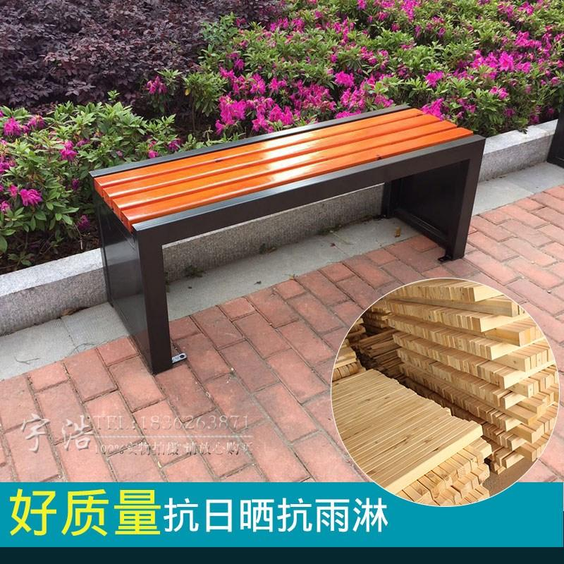 KAILONG Park Chair Garden Outdoor Bench Square Chair Stadium Solid Wood Patient Chair Bathroom Clothes Change Long