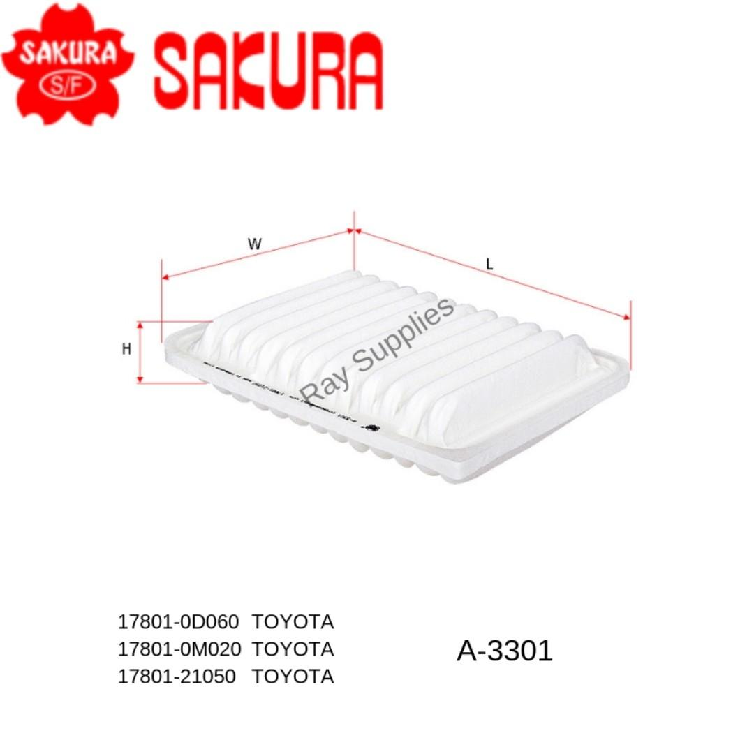 Buy Sakura Martkers Highlighters Toyota Voxy Fuse Box High Quality Air Filter A 3301 A3301 Axiosienta 15