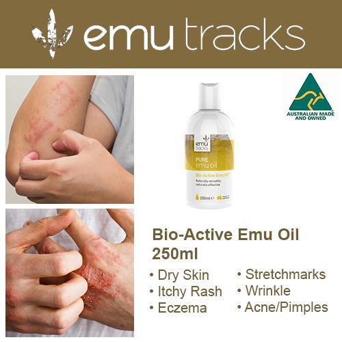 Emu Tracks Bio-Active Emu Oil 250ml