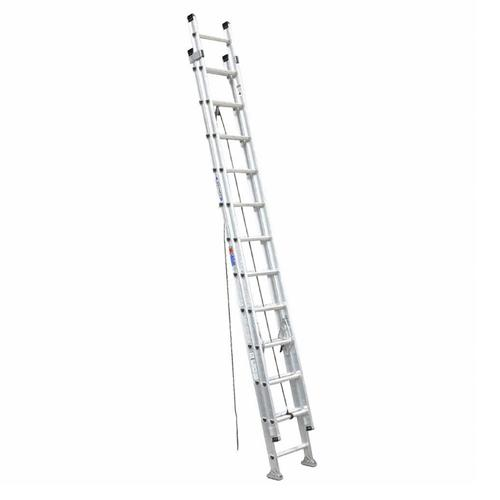 WERNER ALUM EXTENSION LADDER 300LBS D1524-2 24FT