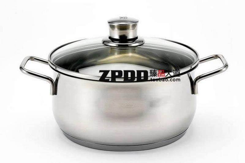 Germany WMF Diadem plus Stainless Steel 16cm2. 0L Stew Pot with Glass Lid Singapore