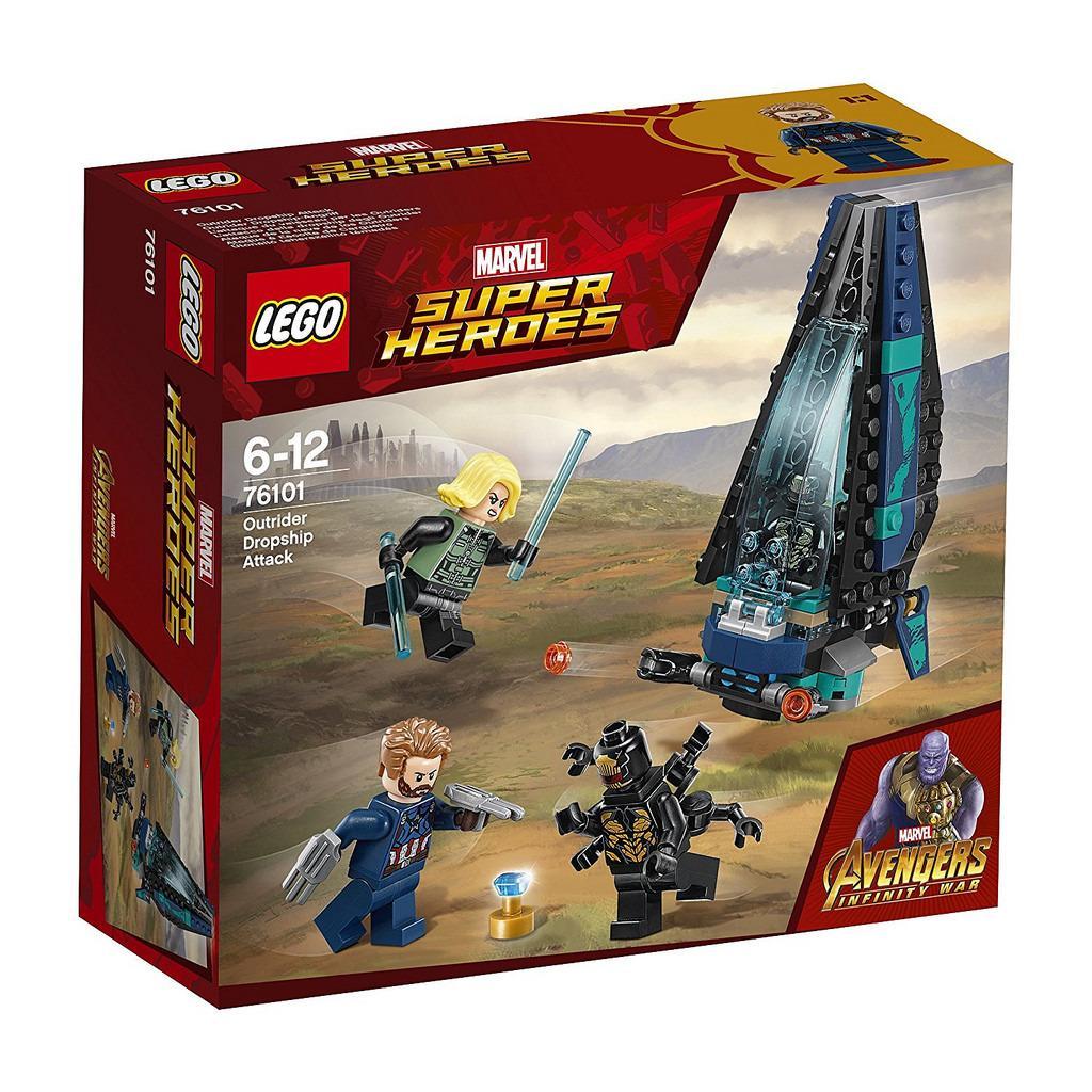 Lego 76101 Avengers Bad Guy Dropship Singapore