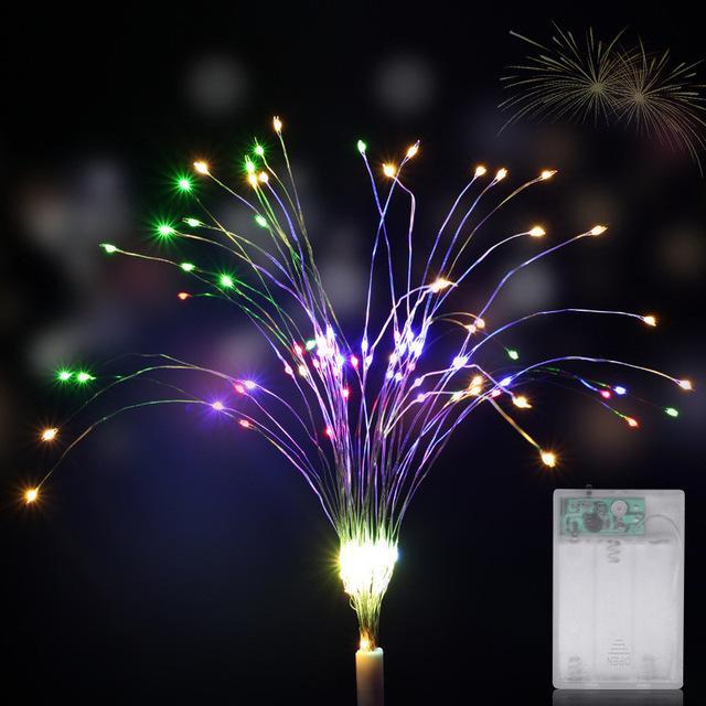 120 LED String Lamp Firework Starburst Fairy String Light