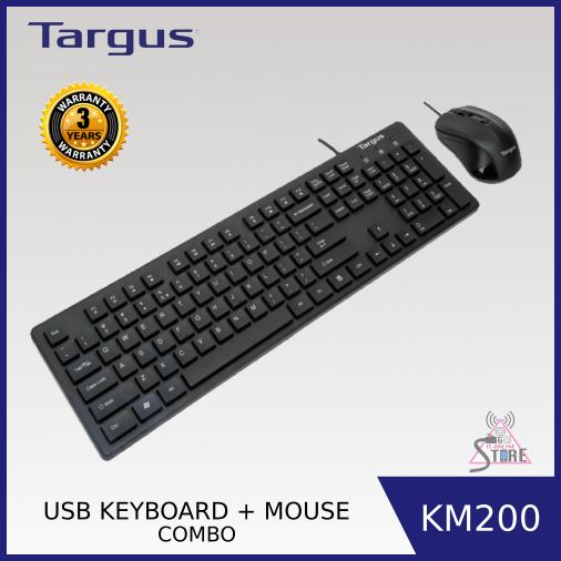 Targus USB Keyboard and Mouse Combo KM200