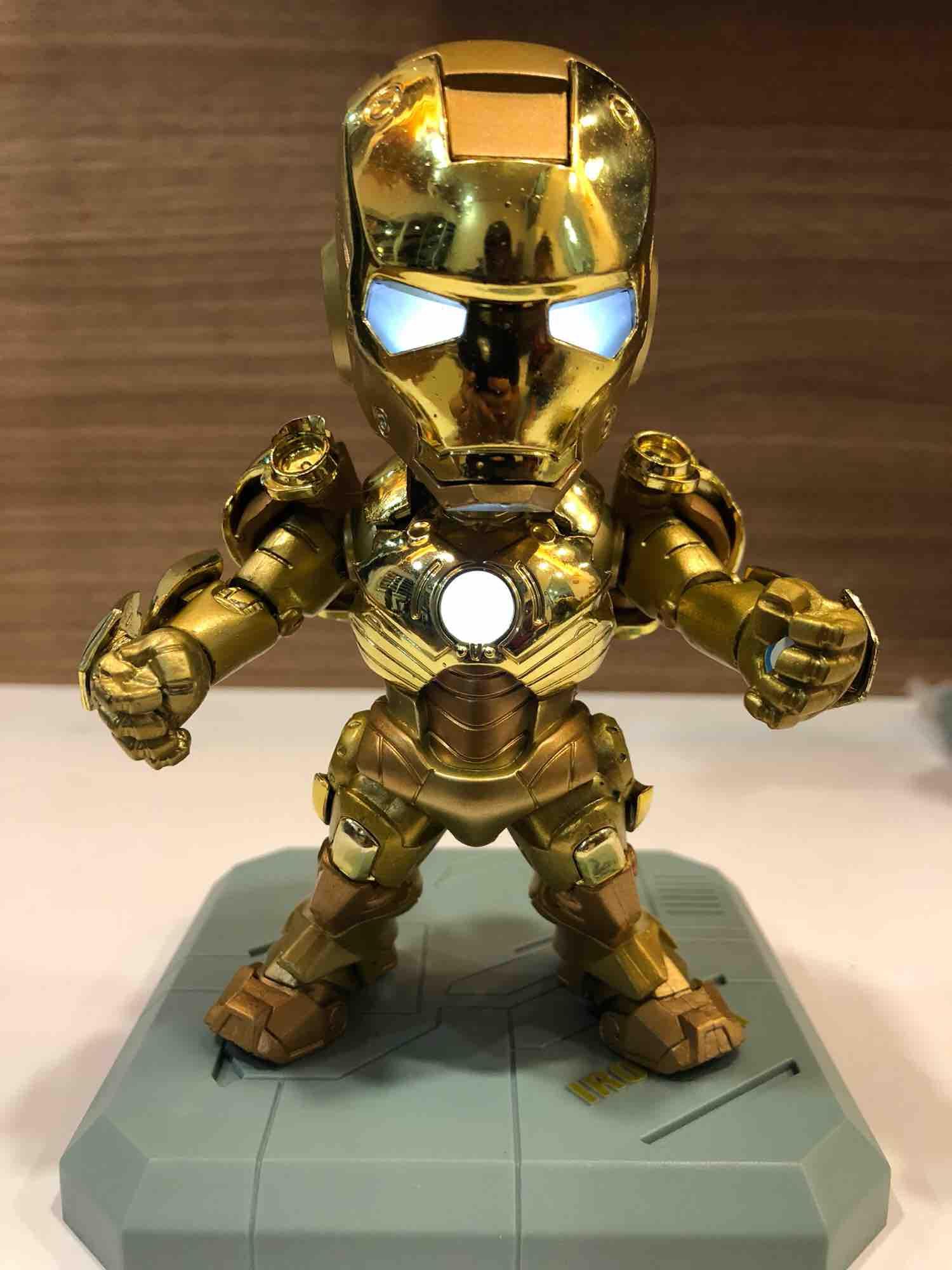 Marvel Legend Iron Man MARK III With LED Light emitting