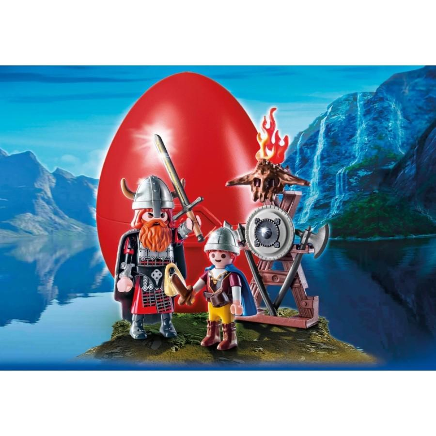 Playmobil Vikings With Shield Easter Egg