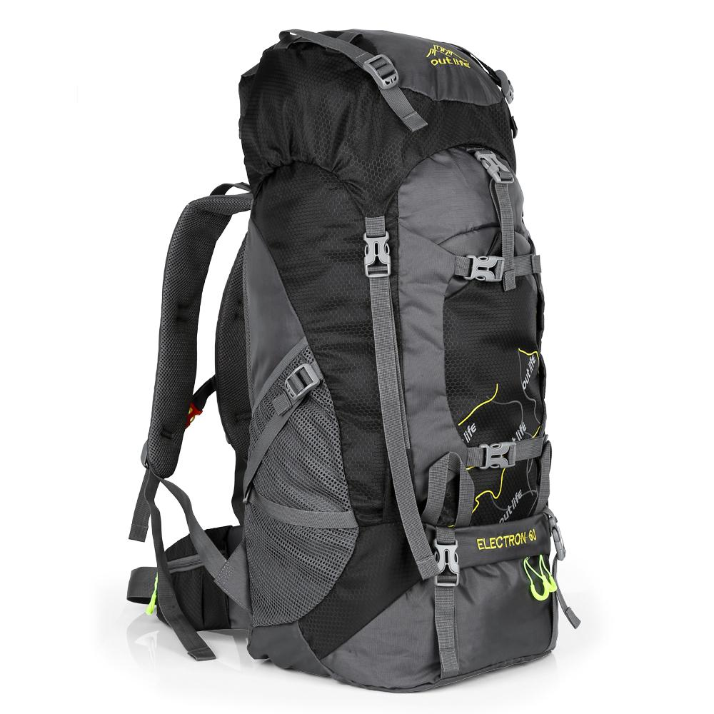 Outlife 8811 65l Outdoor Backpack For Camping / Climbing / Hiking By Aimeey.