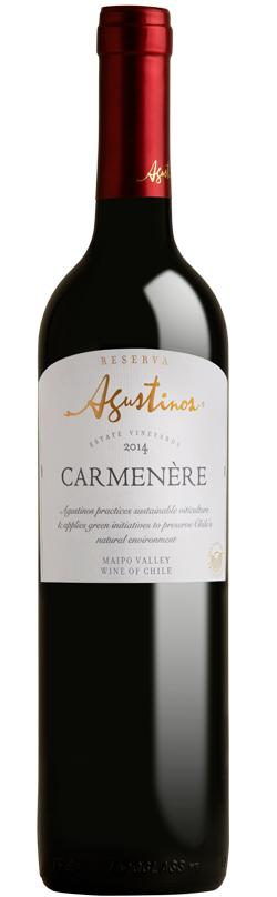 Agustinos Reserva Carmenere 13.5% 750ml By Wines4you.