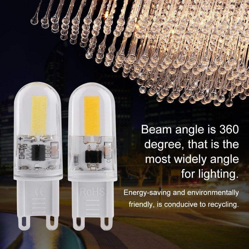 GOFT Mini G9 LED Lamp 6W DC200-240V LED Light Dimmable Lamp 360 Beam Angle Bulb Warm White Singapore