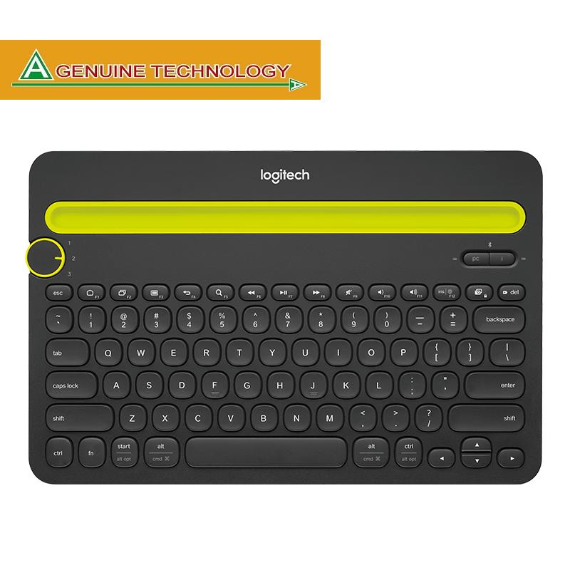 Logitech K480 Black Bluetooth Multi-Device Keyboard Singapore