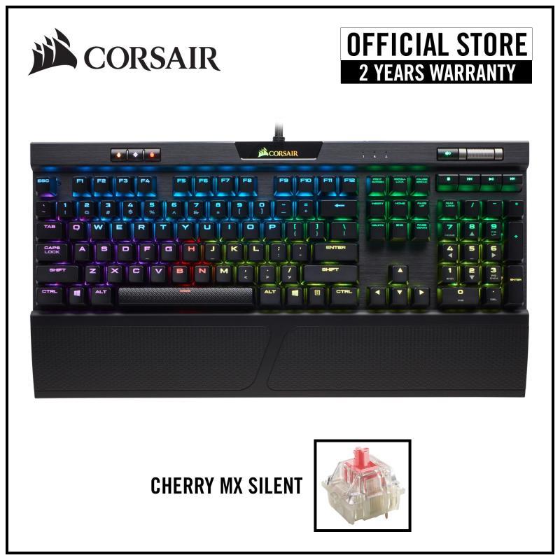CORSAIR K70 RGB MK.2 Mechanical Gaming Keyboard - Cherry MX Silent RGB Singapore