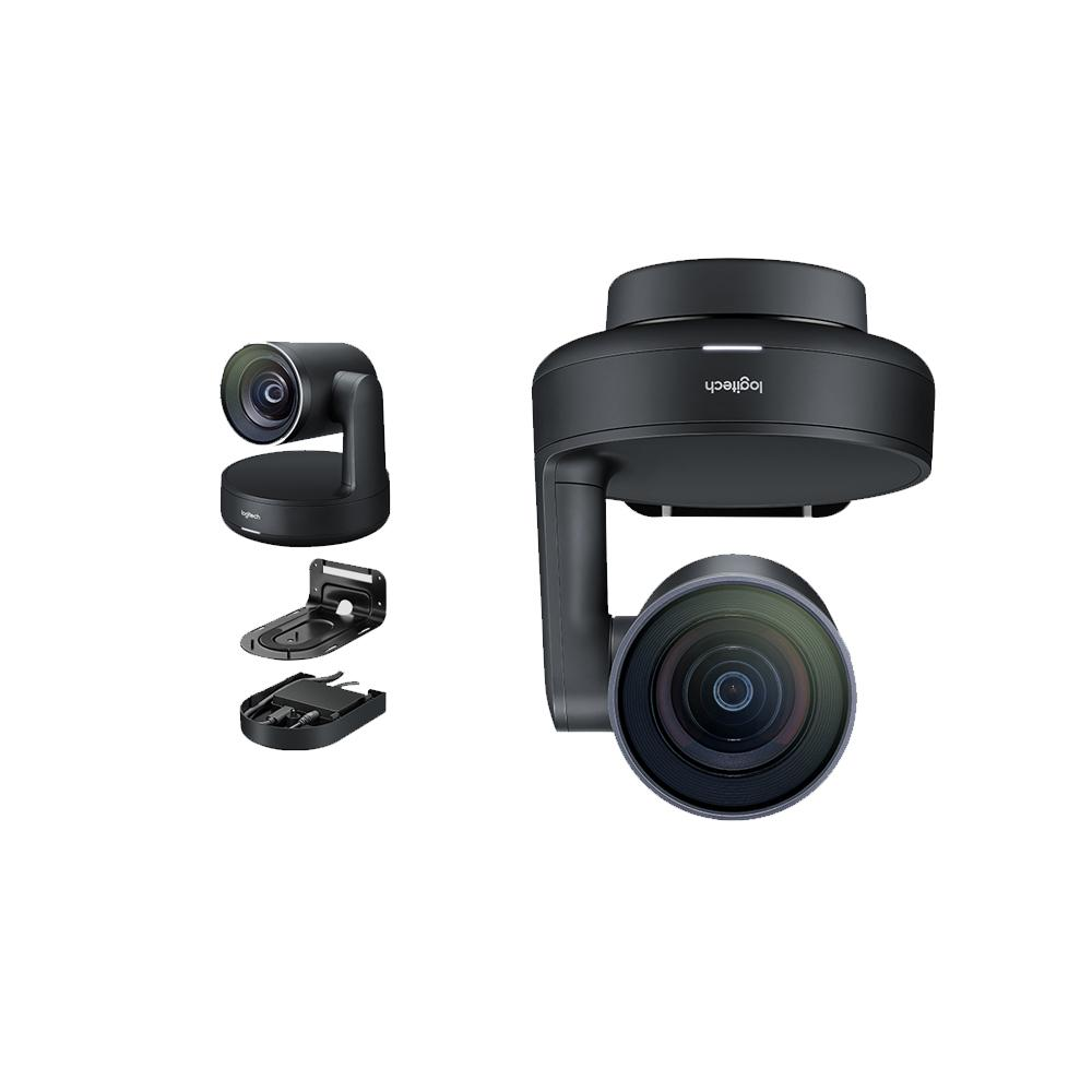 Logitech 960-001226 Rally - Conference camera - PTZ - color - 3840 x 2160-1080p, 4K - motorized - USB 3.0 - H.264