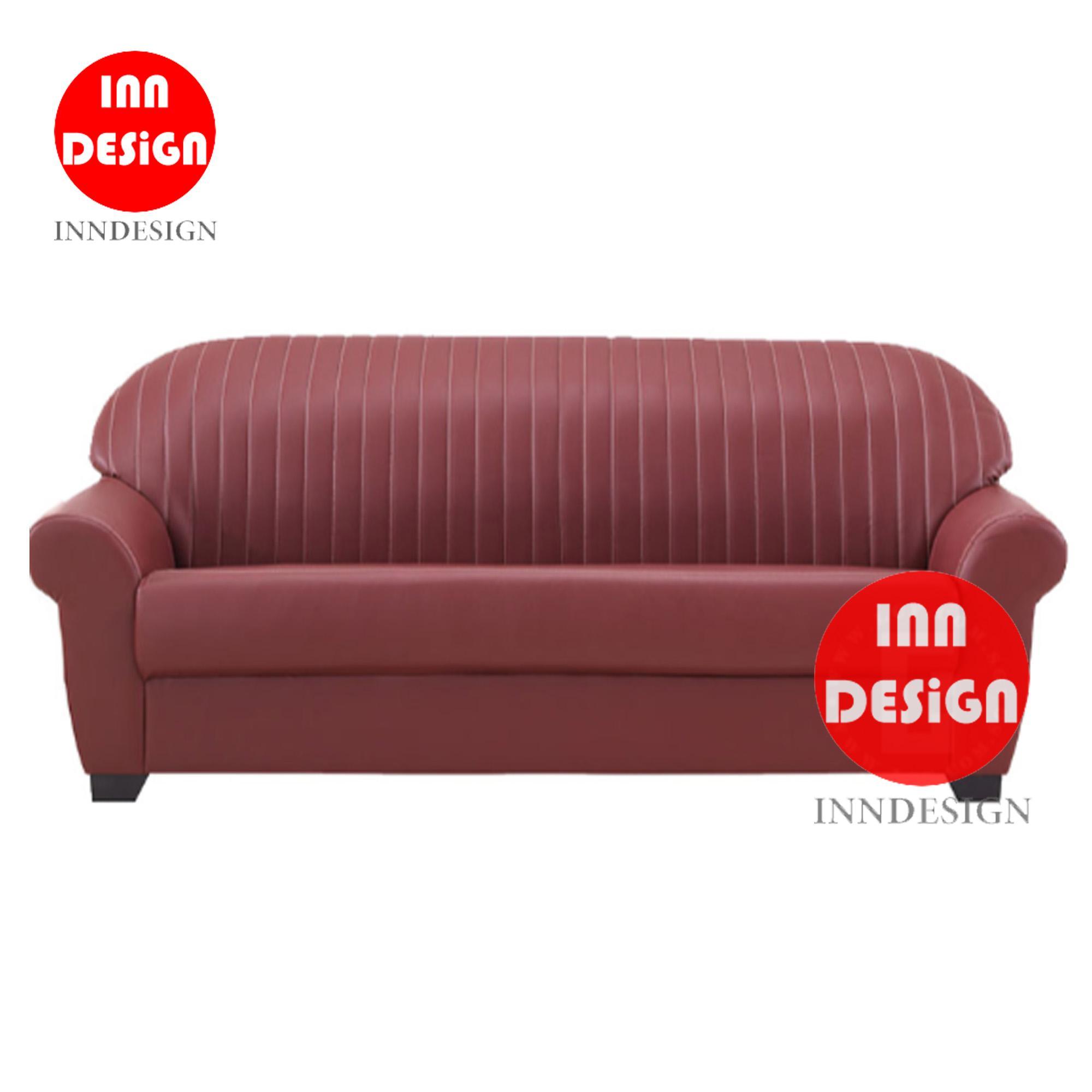 Jayeen 2 Seaters Sofa (Maroon)