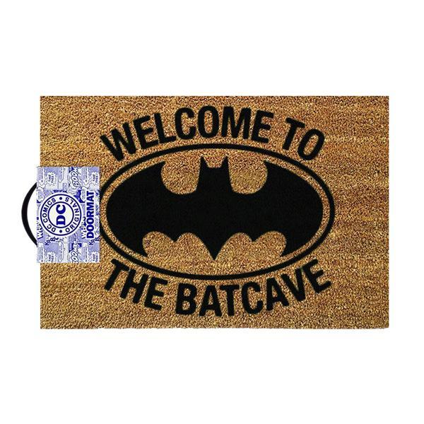 OFFICIAL BATMAN DOORMAT - WELCOME TO THE BATCAVE
