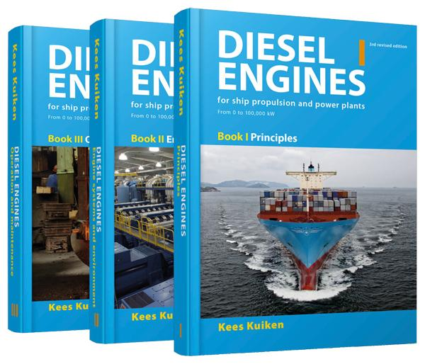Diesel Engines for ship propulsion and power plants - Kees Kuiken 2017 Book