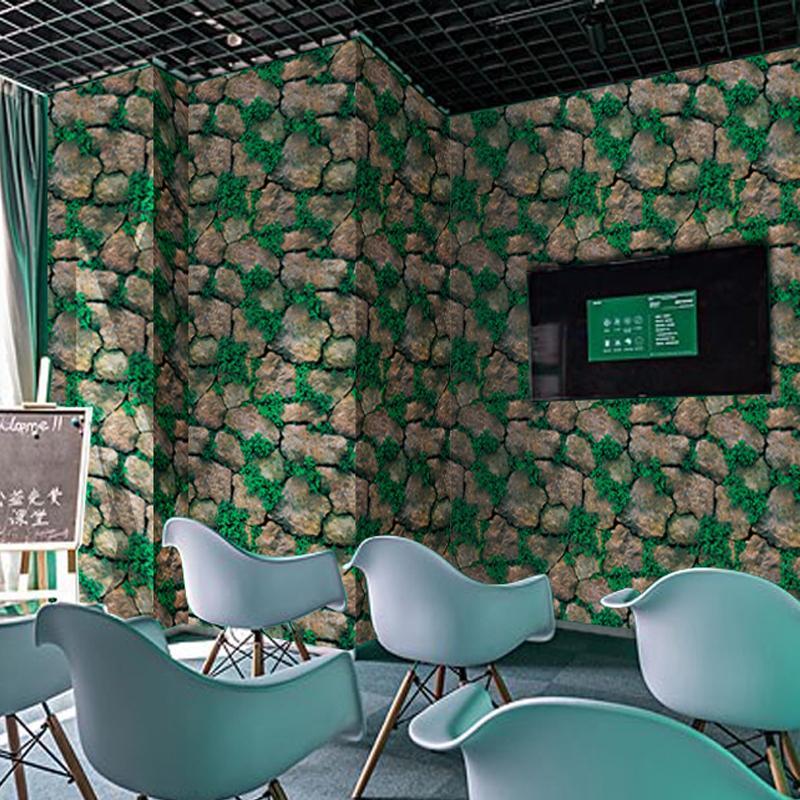 3D Marble Stereo Brick Pattern Wallpaper Stone Roborock Minimalist Modern TV Backdrop Wallpaper Brick