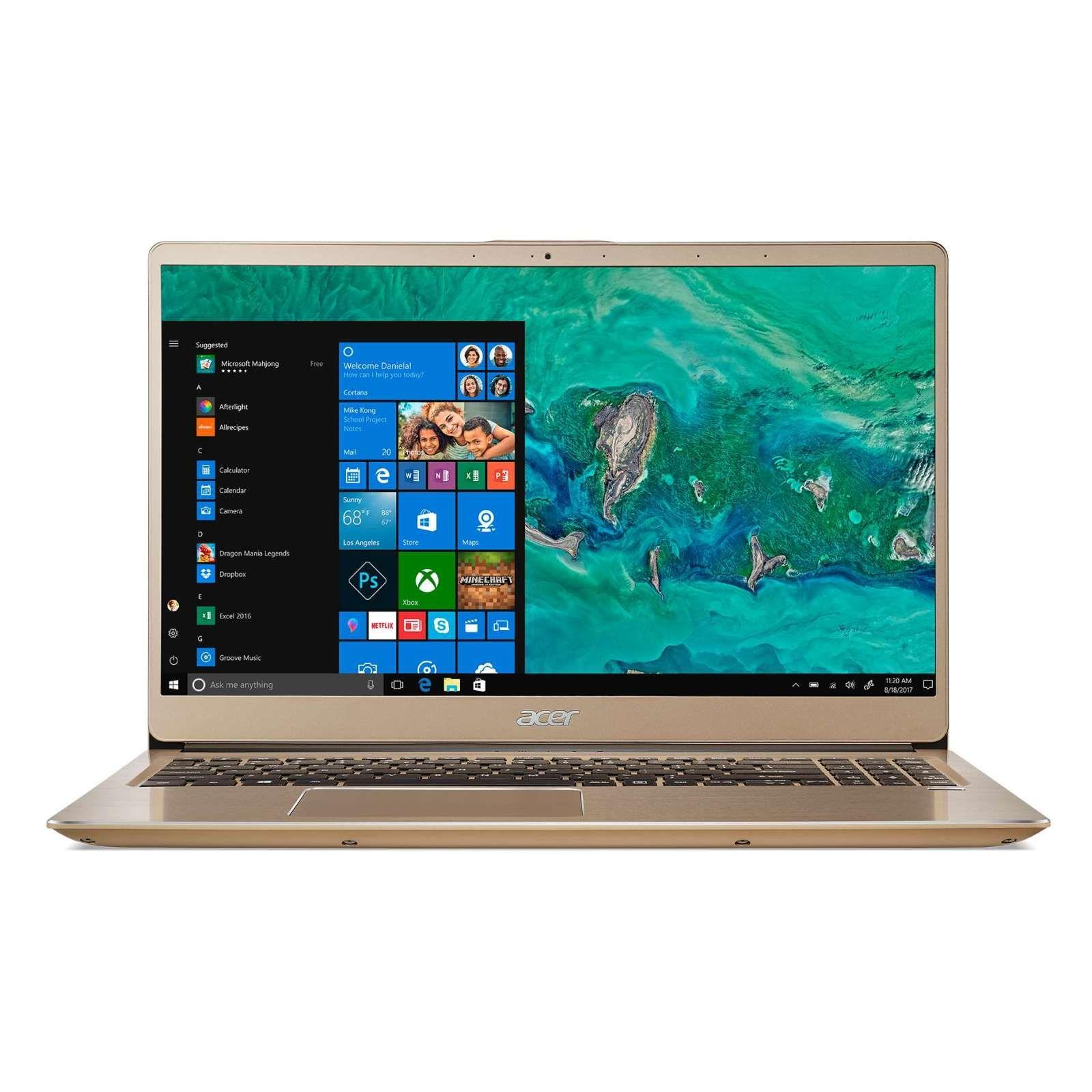 ACER SF315-52G-56UD(GOLD) 15.6 IN INTEL CORE I5-8250U 8GB 512GB SSD WIN 10