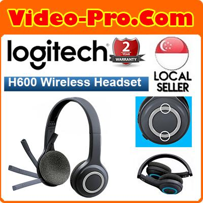 0f77899f3eb Logitech H600 Wireless Headset with Noise-Cancelling Mic and On-Ear Controls  981-