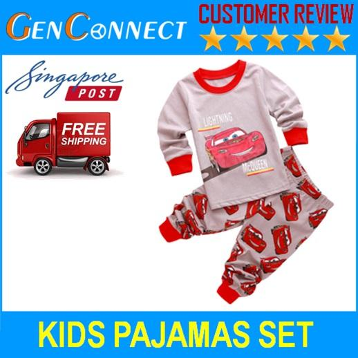 Kids Pajamas Long Sleeve Shirt And Pants Captain America Pyjamas Sleepwear For Children By Genconnect.