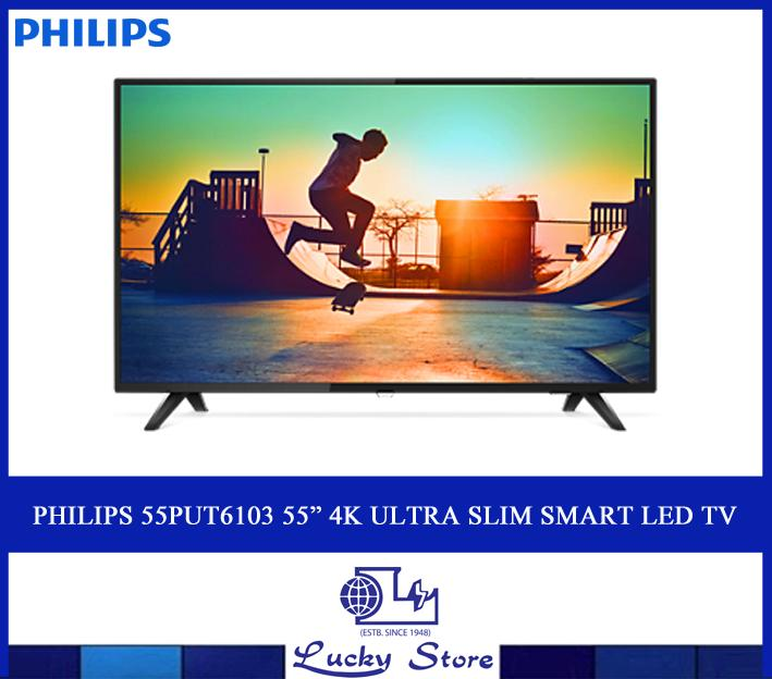 "PHILIPS 55PUT6103 55"" 4K ULTRA SLIM SMART LED TV"