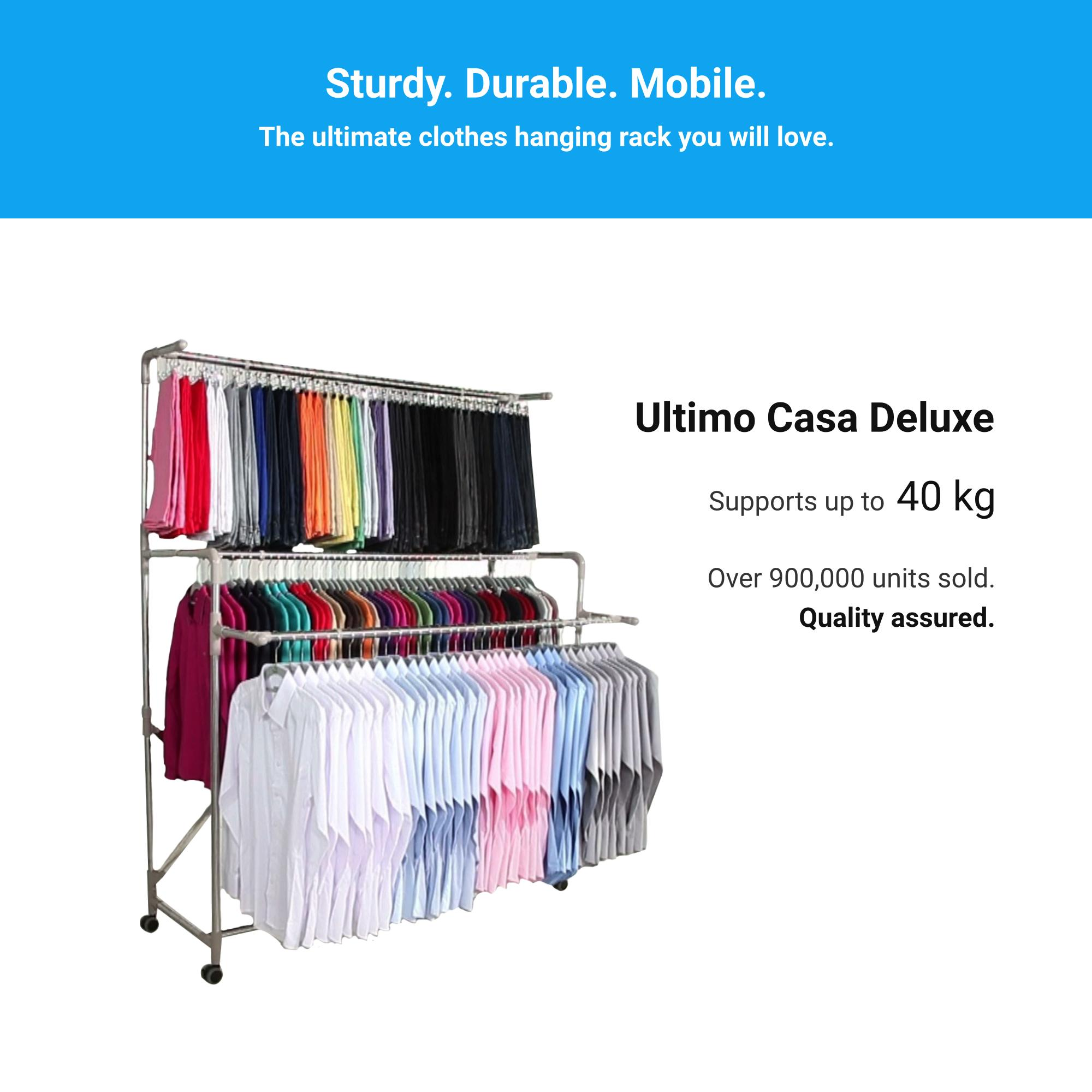 Buy Drying Racks Online Laundry Standing Hanger Multifunction Stand Jml Ultimo Casa Deluxe Clothes Hanging Rack Adjustable Stainless Steel